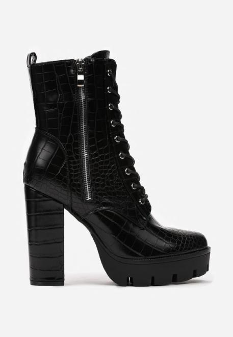 Multu  Czarne Botki Zelile Ботинки Черный оптом