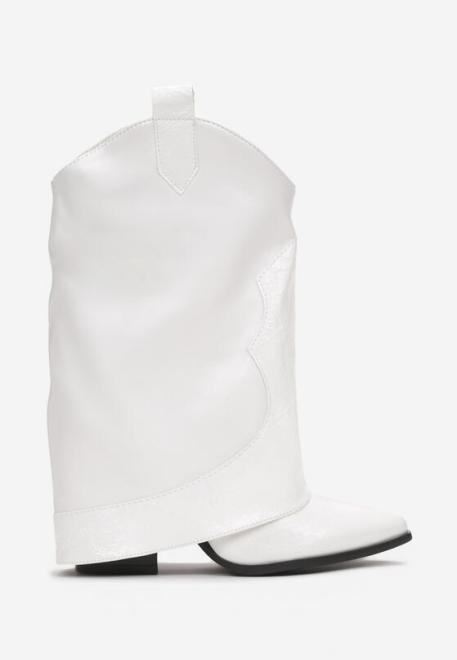 Multu  Białe Botki Dutch Ботинки Белый оптом