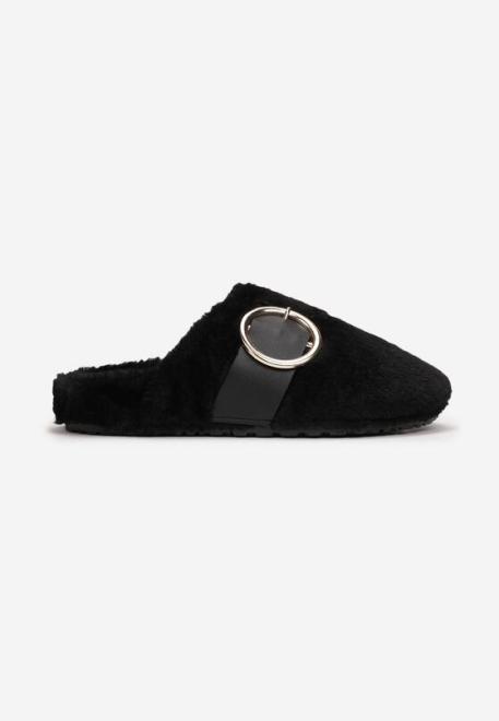 Multu  Czarne Kapcie Himethi Домашняя обувь Черный оптом