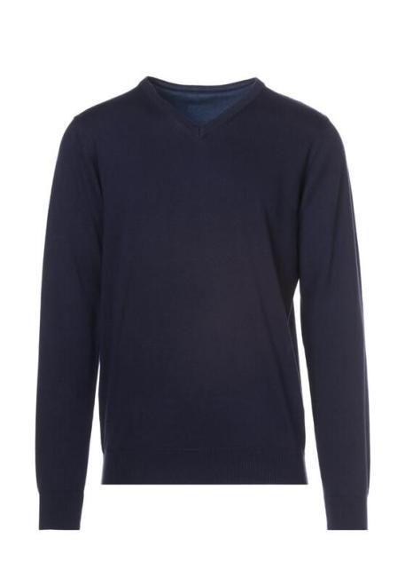Multu  Granatowy Sweter Massu Блуза Темносиний оптом