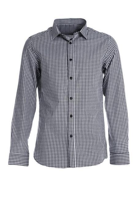 Multu  Czarno-Biała Koszula Lo Рубашка Черный оптом