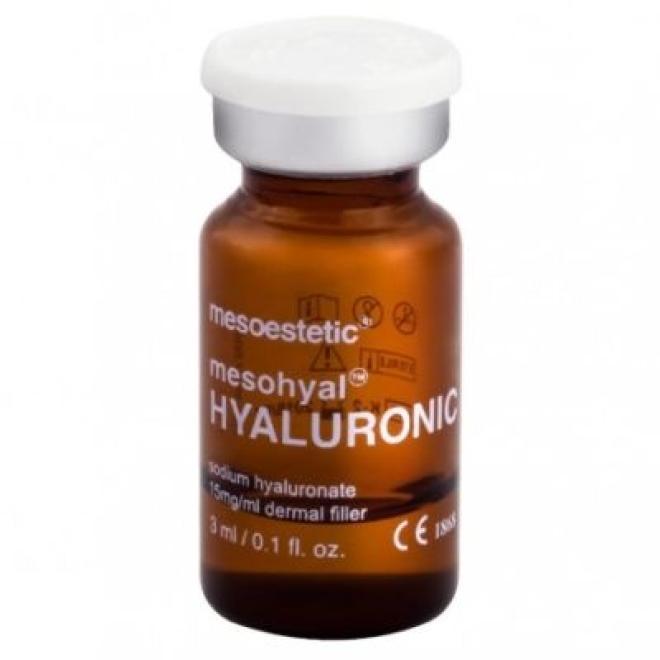 Mesoestetic  Ampułka Mesoestetic Mesohyal Hyaluronic Kwas hialuronowy nieusieciowiony 15 mg/ml Mesoestetic 1 x 3ml Мезотерапия иглами  оптом