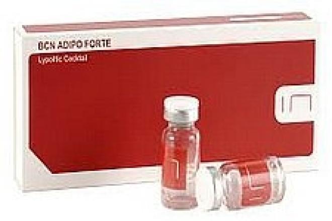 Institute BCN  Meso koktajl lipolityczny odchudzający i antycellulitowy ADIPO FORTE Institute BCN 5 x 10 ml Ампулы, мезотерапия  оптом