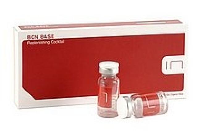 Institute BCN  Meso koktajl odmładzająco nawilżający BASE Institute BCN 5 x 3 ml Ампулы, мезотерапия  оптом
