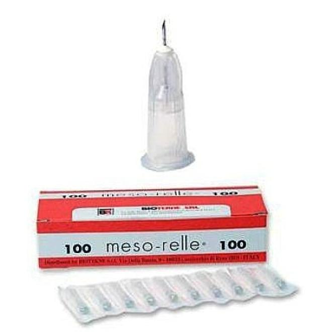 Inne  Igła do mezoterapii Meso-relle 27G 0,4 x 12mm igły 10 sztuk Иглы, шприцы  оптом