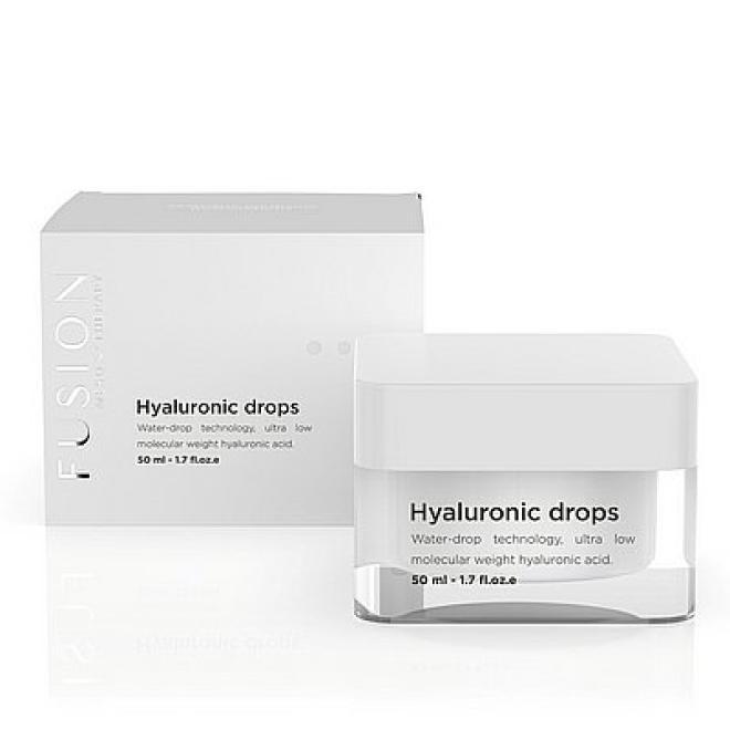 Fusion Mesotherapy  Krem Fusion Mesotherapy Hyaluronic Drops Cream silnie nawilżający 50ml Крем универсальный --//-- оптом