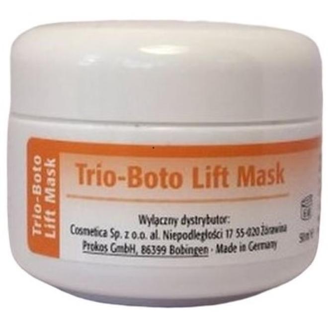 Prokos  Prokos Trio-Boto Lift Mask - Maska intensywnie liftingująca z oligopeptydami i argireliną Prokos 50 ml Маски ионовые  оптом
