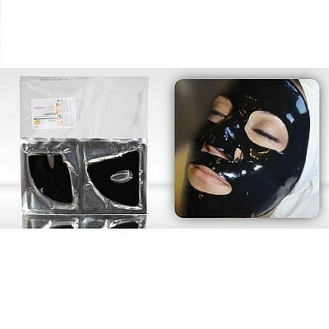 Medbeauty  Maska na twarz hydrożelowa z węglem drzewnym silnie oczyszczajaca Medbeauty 1 szt Маски коллаген кристаллический  оптом