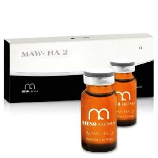 MesoAromaWorld  Ampułka Mesoaroma HA2 Kwas hialuronowy 2% ampułki 5 x 5 ml Мезотерапия иглами --//-- оптом