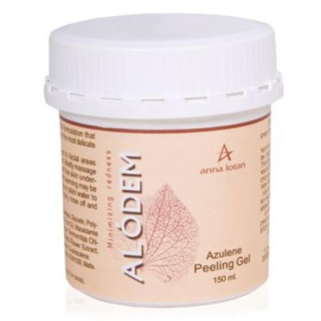 Anna Lotan  Azuleinowy Bio-peeling w żelu Anna Lotan Alodem Azulene Peeling Gel (4017) 150ml Пиллинг лица  оптом