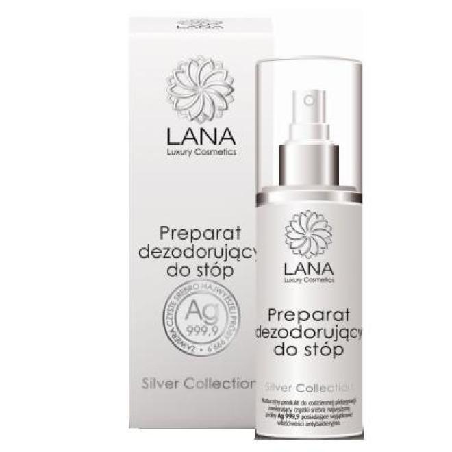 NaturaMedica  Preparat dezodorujący do stóp Lana Luxury Cosmetics Natura Medica 100 ml Уход руки, стопы  оптом