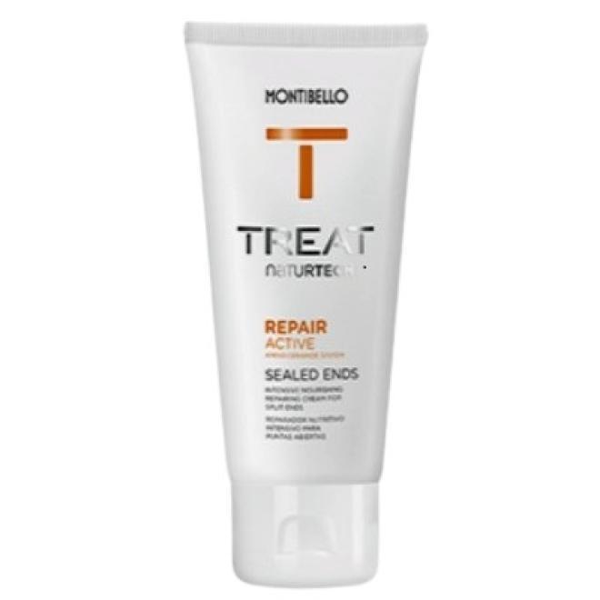 Montibello  Krem na końcówki Montibello Repair Active Cream Sealed Ends Treat NaturTech 75ml Волосы - бальзам, ампулы --//-- оптом