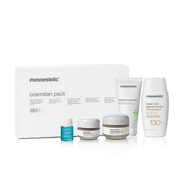 Mesoestetic  Mesoestetic Cosmelan Pack New Zestaw na przebarwienia Pełna kuracja 5 produktów Крем и препараты для проблемной кожи  оптом