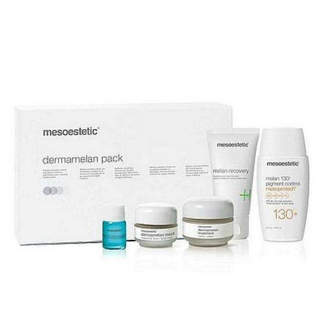 Mesoestetic  Mesoestetic Dermamelan Pack New Zestaw na przebarwienia Pełna kuracja 5 produktów Крем и препараты для проблемной кожи  оптом