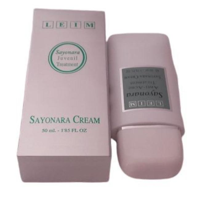 Leim  Krem dla skór tłustych trądzikowych Leim Sayonara Cream 50ml Крем и препараты для проблемной кожи  оптом