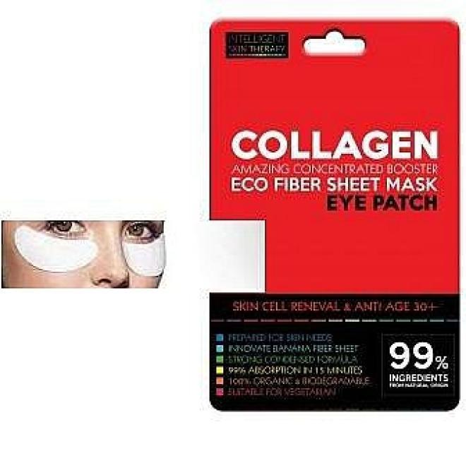Beauty Face  Płatki pod oczy KOLAGEN MORSKI odbudowa skóry i odmłodzenie 30+ Intelligent Skin Therapy Beauty Face 1 para Крем и препараты для области глаз   оптом