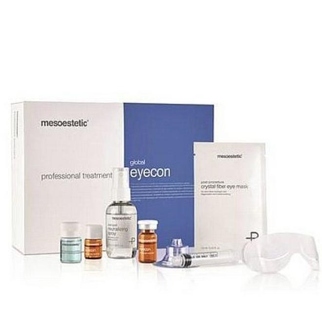 Mesoestetic  Mesoestetic Global Eyecon Professional Treatment Kuracja na okolice oczu 12 zabiegów Крем и препараты для области глаз   оптом