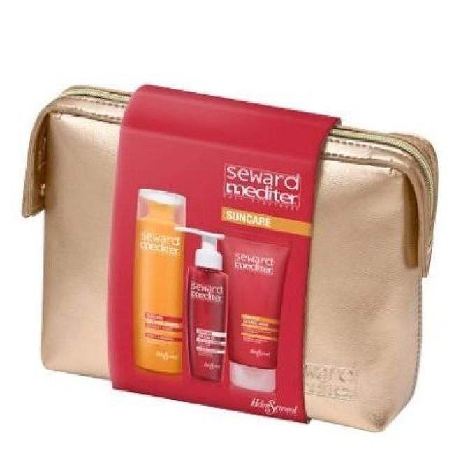 Zestaw Helen Seward Suncare ochrona przed słońcem szampon 250 ml + olejek 125 ml + maska 200 ml Наборы косметики --//-- оптом