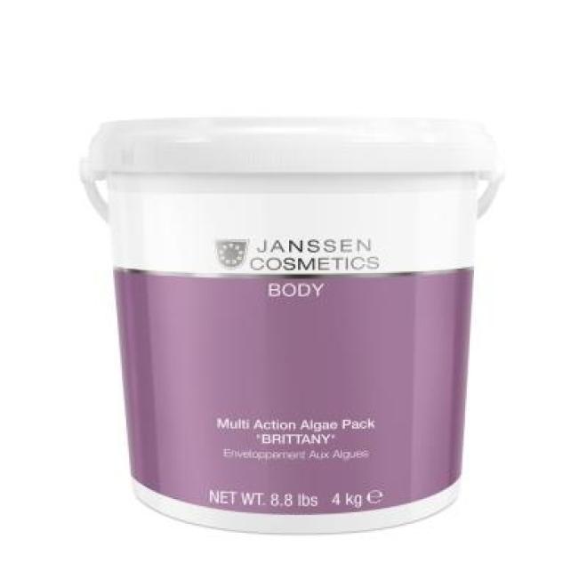 "Janssen Cosmetics  Multiaktywna maska algowa Janssen Cosmetics Multi Action Algae Pack ""BRITTANY"" (7688p) 4 kg Целлюлит, упругость кожи тела  оптом"