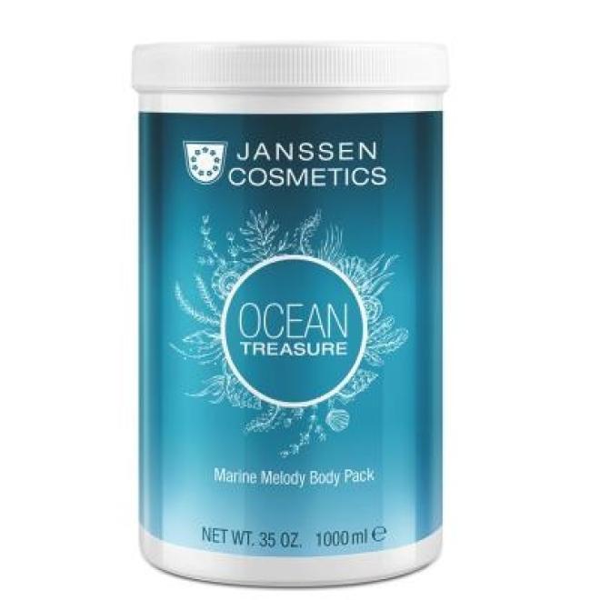 Janssen Cosmetics  Maska kremowa z algami Janssen Marine Melody Body Pack (8680p) odżywcza 1000 ml Целлюлит, упругость кожи тела  оптом