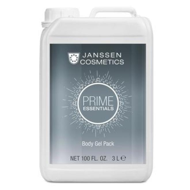 Janssen Cosmetics  Maska żelowa do ciała Janssen Body Gel Pack (8871p) odmładzająca z żurawiną 3000 ml Целлюлит, упругость кожи тела  оптом
