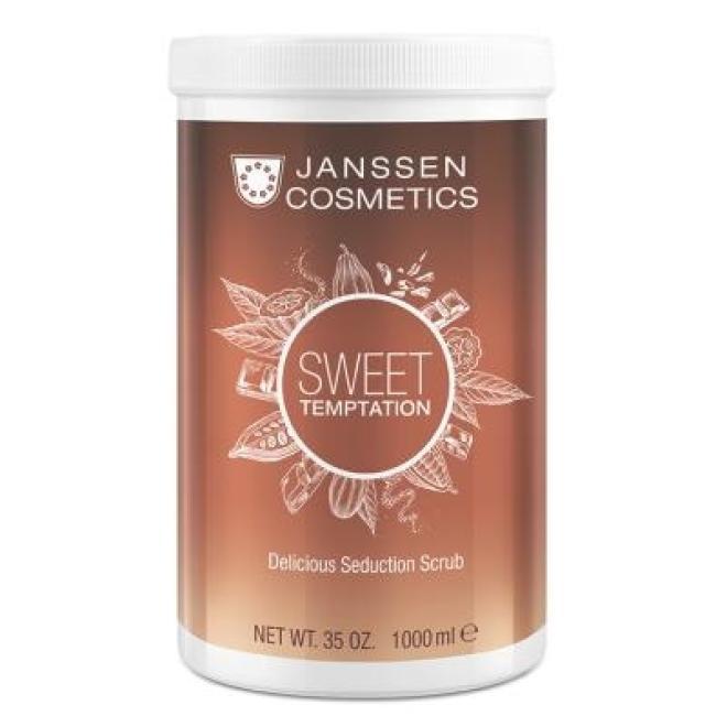 Peeling z ziarnami kakaowca Janssen Delicious Seduction Scrub (8676p) 1000 ml Целлюлит, упругость кожи тела  оптом