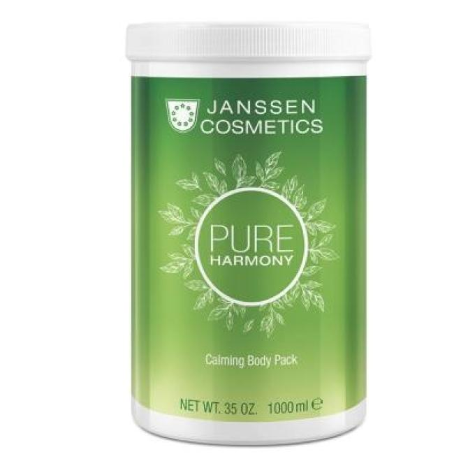 Janssen Cosmetics  Maska kremowa z zieloną herbatą Janssen Calming Body Pack (8681p) 1000 ml Целлюлит, упругость кожи тела  оптом