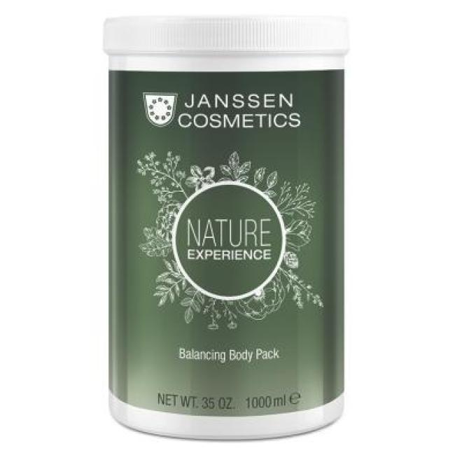Janssen Cosmetics  Maska kremowa z torfem Janssen Balancing Body Pack (8689p) nawilżająca 1000 ml Целлюлит, упругость кожи тела  оптом