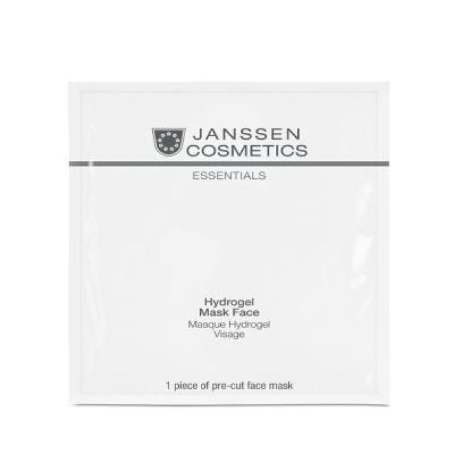 Janssen Cosmetics  Maska Hydrożelowa Janssen Hydrogel Mask Face (8207p) intensywnie nawilżająca 3 x 1 szt Маски кремовые и грязевые  оптом