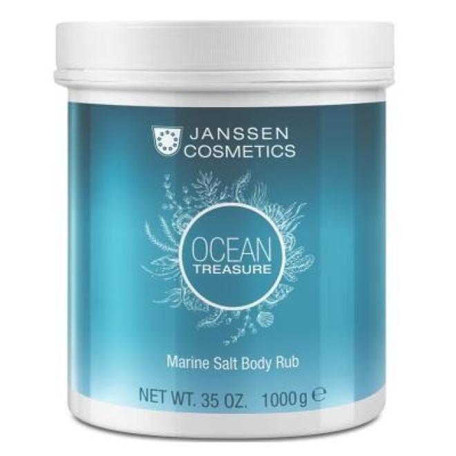 Janssen Cosmetics  Peeling z algami Janssen Marine Salt Body Rub (8671p) 1000 g Пиллинг тела  оптом