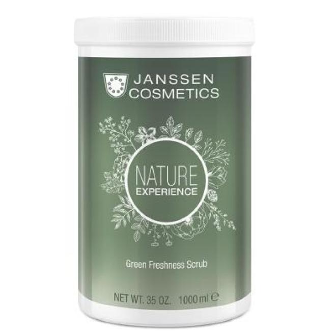 Janssen Cosmetics  Peeling z ekstraktem z torfu Janssen Green Freshness Scrub (8679p) aktywujący metabolizm 1000 ml Пиллинг тела  оптом