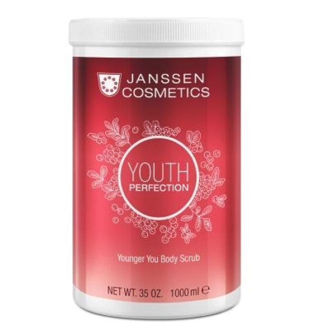 Janssen Cosmetics  Peeling z żurawiną Janssen Younger You Body Scrub (8678p) aktywujący metabolizm 1000 ml Пиллинг тела  оптом