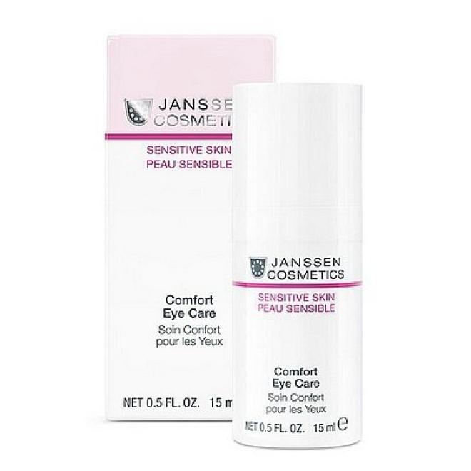 Janssen Cosmetics  Krem na okolice oczu Janssen (2060) Sensitive Comfort Eye Care 15 ml Крем и препараты для области глаз   оптом