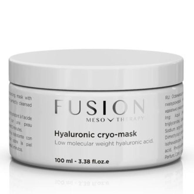 Fusion Mesotherapy  Maska do twarzy FUSION Hyaluronic Cryo łagodząca kojąca po zabiegach Fusion Mesotherapy 100ml Крем после процедур --//-- оптом