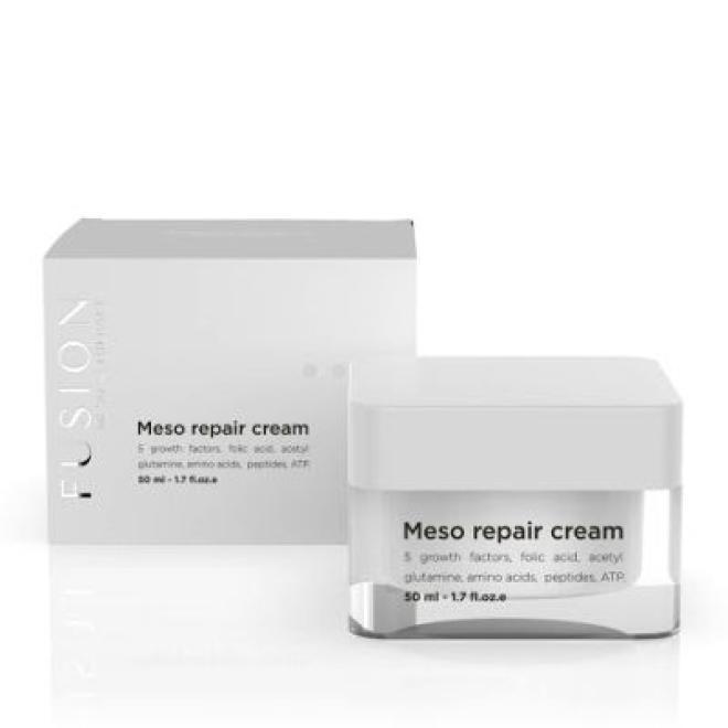Fusion Mesotherapy  Krem Meso Repair Cream regenerujący naprawczy kojący po zabiegach Fusion Mesotherapy 50ml Крем универсальный --//-- оптом
