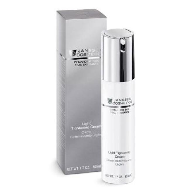 Emulsja rewitalizująca do skóry wymagającej Janssen Cosmetics Light Tightening Cream 50ml Крем универсальный  оптом