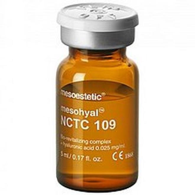 Mesoestetic  Ampułka Mesoestetic Mesohyal NCTC 109 Koktajl do mezoterapii anti-aging + kwas hialuronowy 1 x 5ml Ампулы, мезотерапия  оптом