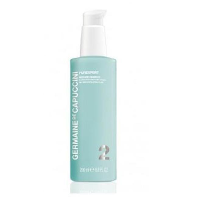 Delikatna esencja złuszczająca do skóry tłustej Purexpert Refiner Essence for oily skin Germaine de Capuccini 200 ml Демакияж  оптом