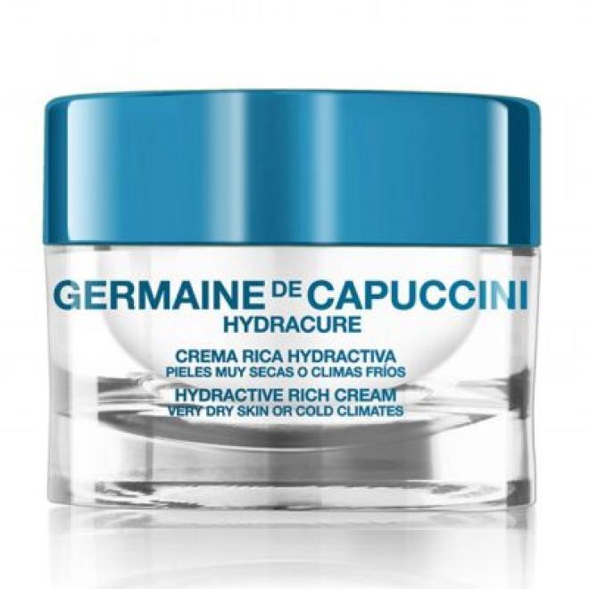 Krem nawilżający dla skóry suchej i bardzo suchej Hydracure Hydractive Rich Cream Very Dry Skin Germaine de Capuccini 50ml Крем дневной --//-- оптом