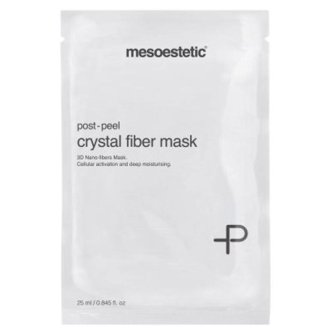 Mesoestetic  Maska Mesoestetic Post-Peel Crystal Fiber Mask 1 x 25ml Маски коллаген кристаллический  оптом