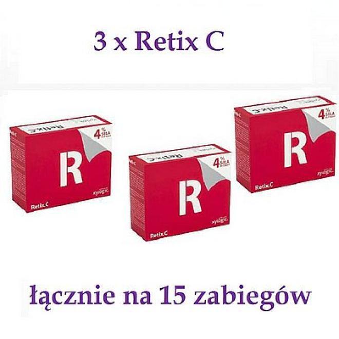 Xylogic  Xylogic Retix C Retinol 4% Serum 2ml + Maska 5g - 15 zabiegów ( 3 pudełka x 5 zabiegów ) Пилинг --//-- оптом