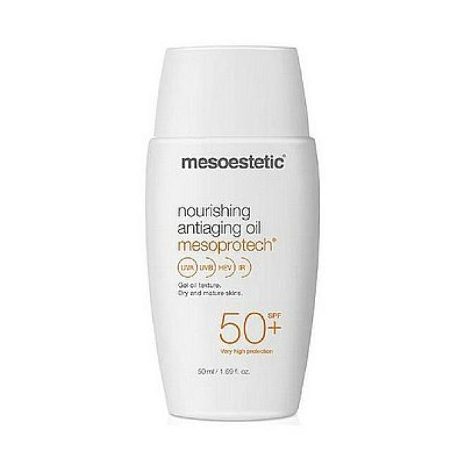 Mesoestetic  Olejek Mesoprotech Nourishing Antiaging Oil 50+ antiaging do skóry dojrzałej SPF50+ Mesoestetic 50ml DATA 02/2021 Крем после процедур  оптом