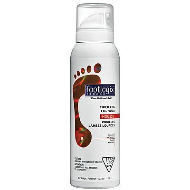 Footlogix  Mus Footlogix Tired Leg Formula Mousse do zmęczonych stóp 125ml Уход руки, стопы  оптом