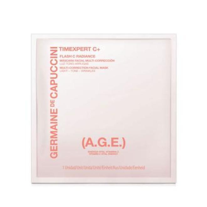Germaine de Capuccini  Maska Germaine de Capuccini Timexpert C+ Flash C Radiance Rewitulizująco - Rozświetlająca z witaminą C 1 x 20ml Маски тканевые  оптом