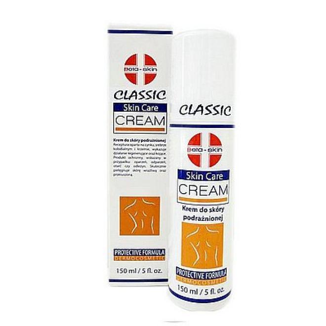Beta - Skin  Beta Skin Skin Care Cream Krem do ciała regenerujący na podrażnienia 150ml Препараты до/после операционные  оптом