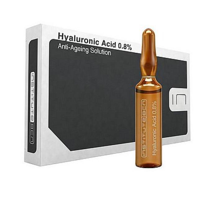 Institute BCN  Ampułki Hyaluronic Acid 0,8% kwas hialuronowy Institute BCN 10 x 2ml Ампулы, мезотерапия  оптом