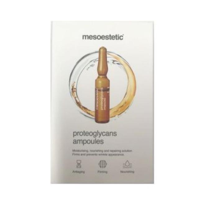 Mesoestetic  Ampułka Proteoglycans ujędrniające odżywiające i nawilżające Mesoestetic 1 x 2ml Ампулы, мезотерапия  оптом