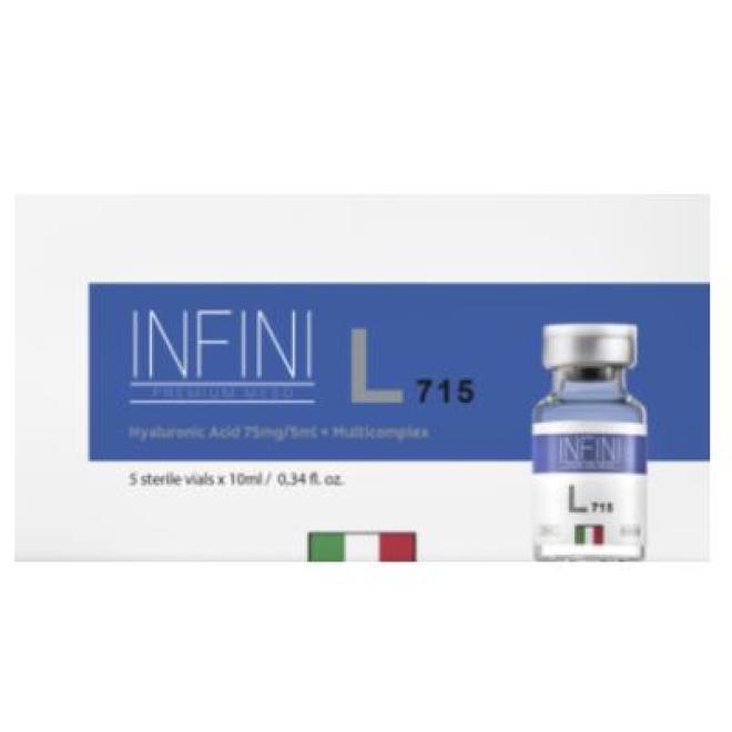 Infini  Koktajl INFINI Premium Meso L 715 zaawansowana kuracja przeciwstarzeniowa 5 x 10ml Мезотерапия иглами  оптом