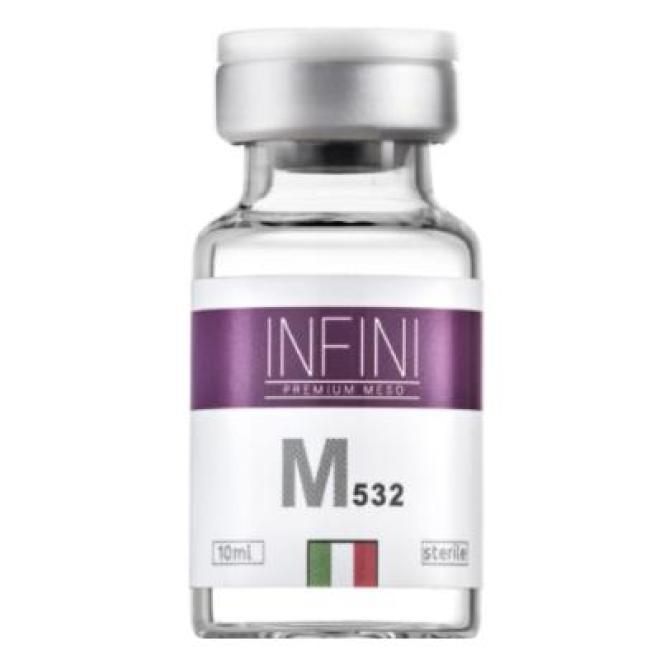 Infini  Koktajl INFINI Premium Meso M 532 rewitalizacja i rozświetlenie 1 x 10ml Мезотерапия иглами  оптом