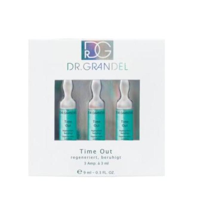 Dr. Grandel  Ampułki Dr Grandel Time Out wygładzające zmarszczki 3 x 3ml Ампулы, мезотерапия --//-- оптом